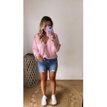 Sweater de lana rosado ONE SIZE